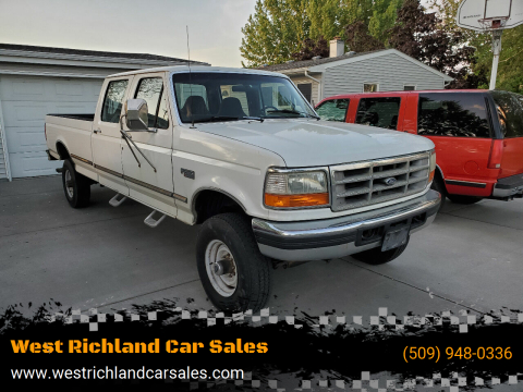 1996 Ford F-350 XLT for sale at West Richland Car Sales in West Richland WA