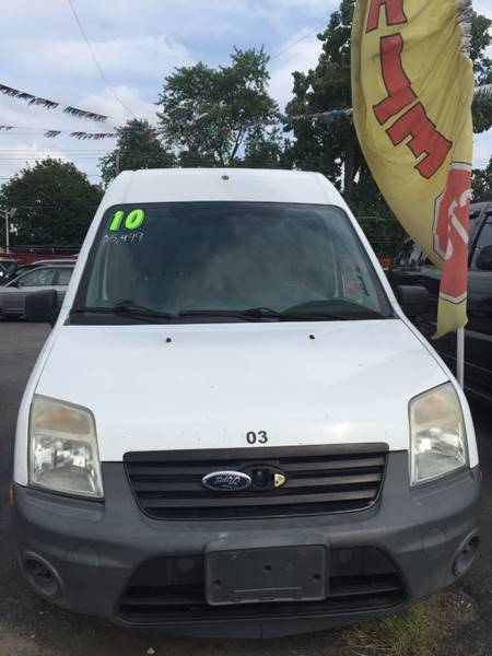 2010 Ford Transit Connect Xl 4dr Cargo Mini Van W O Side And Rear