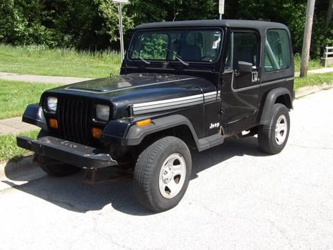 1990 jeep wrangler for sale for Goldstar motor company winchester virginia