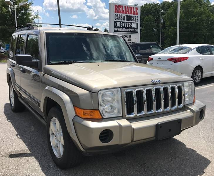 Jeep Commander Suv In Raleigh Nc Reliable Cars