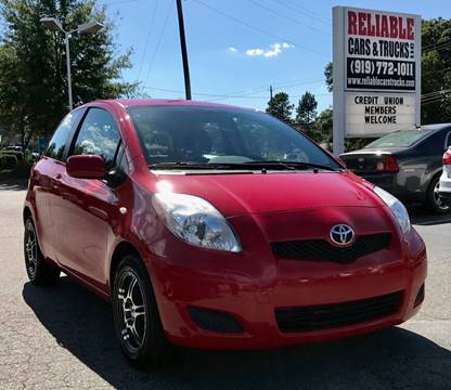 2010 Toyota Yaris for sale in Raleigh, NC