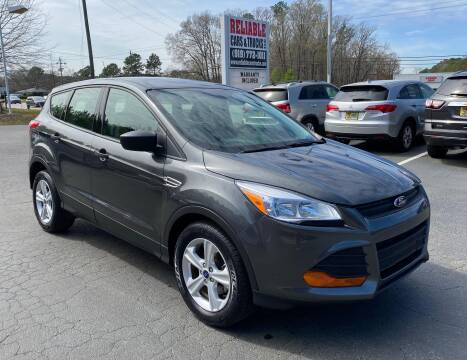 2016 Ford Escape for sale at Reliable Cars & Trucks LLC in Raleigh NC