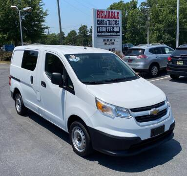2016 Chevrolet City Express Cargo for sale at Reliable Cars & Trucks LLC in Raleigh NC