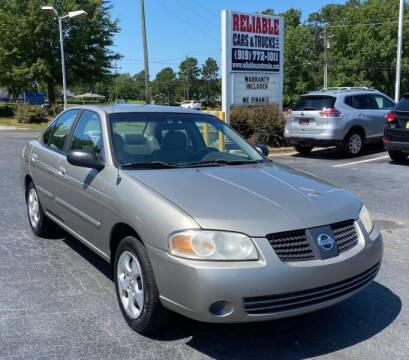2006 Nissan Sentra for sale at Reliable Cars & Trucks LLC in Raleigh NC