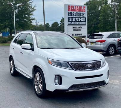 2014 Kia Sorento for sale at Reliable Cars & Trucks LLC in Raleigh NC