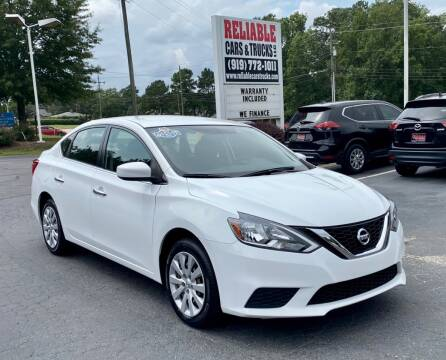 2017 Nissan Sentra for sale at Reliable Cars & Trucks LLC in Raleigh NC