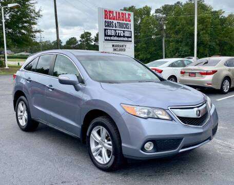 2013 Acura RDX for sale at Reliable Cars & Trucks LLC in Raleigh NC