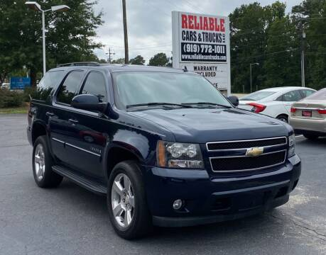 2008 Chevrolet Tahoe for sale at Reliable Cars & Trucks LLC in Raleigh NC