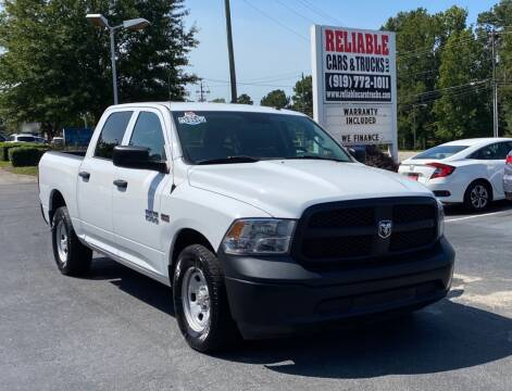 2016 RAM Ram Pickup 1500 for sale at Reliable Cars & Trucks LLC in Raleigh NC