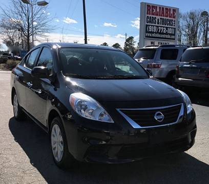 2013 Nissan Versa for sale in Raleigh, NC