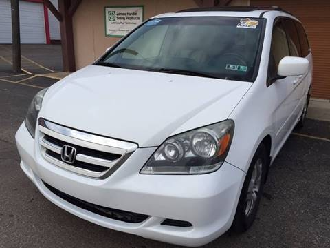 2006 Honda Odyssey for sale at Elite Auto World in Cleveland OH