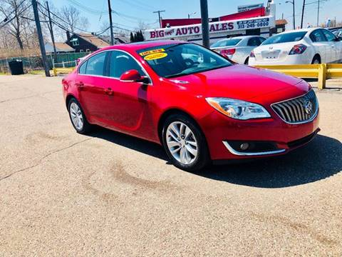 2015 Buick Regal for sale at Big Three Auto Sales Inc. in Detroit MI