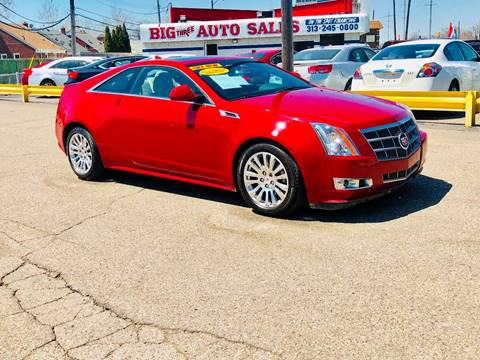 2011 Cadillac CTS for sale at Big Three Auto Sales Inc. in Detroit MI