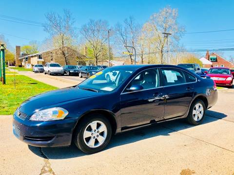 2008 Chevrolet Impala for sale at Big Three Auto Sales Inc. in Detroit MI