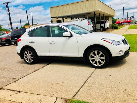 2011 Infiniti EX35 for sale at Big Three Auto Sales Inc. in Detroit MI