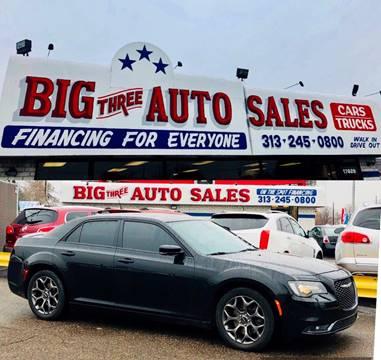 Big Three Auto Sales Inc Used Cars Detroit Mi Dealer