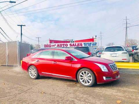 2014 Cadillac XTS for sale at Big Three Auto Sales Inc. in Detroit MI