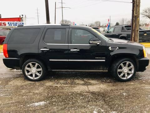 2010 Cadillac Escalade for sale at Big Three Auto Sales Inc. in Detroit MI
