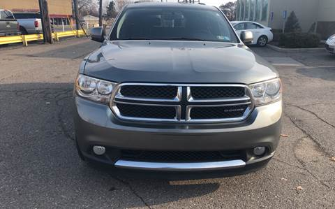 2011 Dodge Durango for sale at Big Three Auto Sales Inc. in Detroit MI
