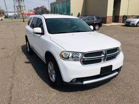 2013 Dodge Durango for sale at Big Three Auto Sales Inc. in Detroit MI