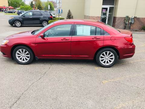 2011 Chrysler 200 for sale at Big Three Auto Sales Inc. in Detroit MI
