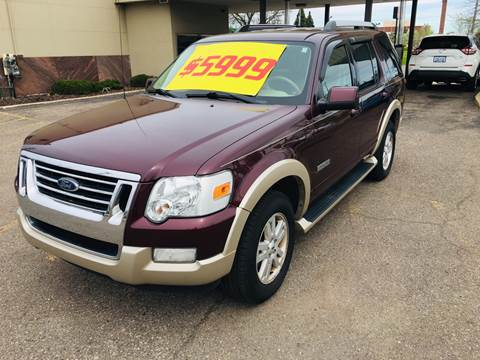 2006 Ford Explorer for sale at Big Three Auto Sales Inc. in Detroit MI