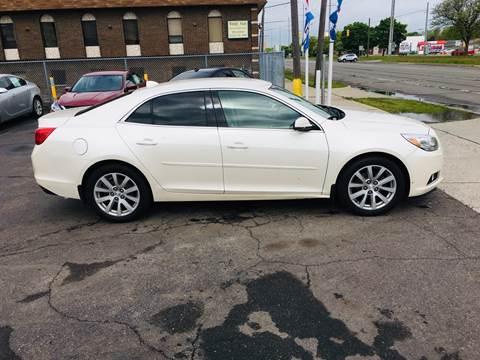 2013 Chevrolet Malibu for sale at Big Three Auto Sales Inc. in Detroit MI