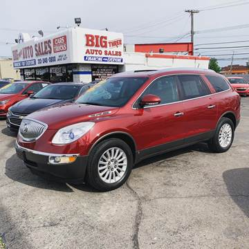 2008 Buick Enclave for sale at Big Three Auto Sales Inc. in Detroit MI