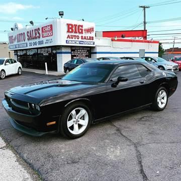 2013 Dodge Challenger for sale at Big Three Auto Sales Inc. in Detroit MI