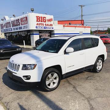 2014 Jeep Compass for sale at Big Three Auto Sales Inc. in Detroit MI