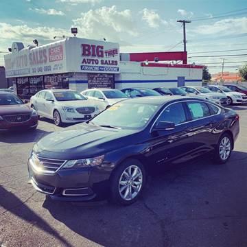 2017 Chevrolet Impala for sale at Big Three Auto Sales Inc. in Detroit MI