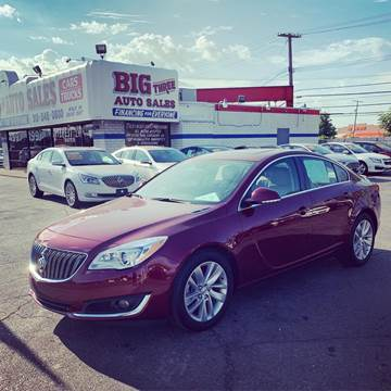 2016 Buick Regal for sale at Big Three Auto Sales Inc. in Detroit MI