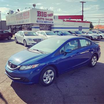 2013 Honda Civic for sale at Big Three Auto Sales Inc. in Detroit MI