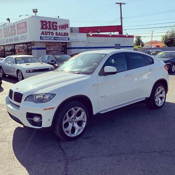 2012 BMW X6 for sale at Big Three Auto Sales Inc. in Detroit MI