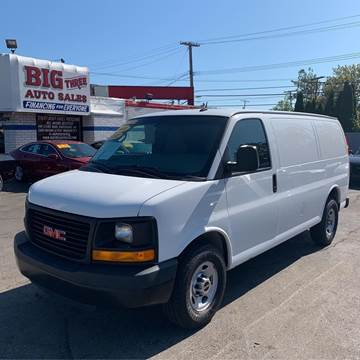 2014 GMC Savana Cargo for sale at Big Three Auto Sales Inc. in Detroit MI