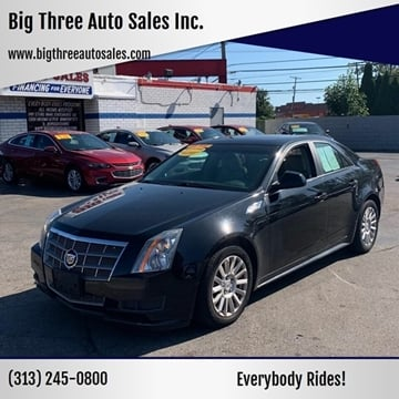 2010 Cadillac CTS for sale at Big Three Auto Sales Inc. in Detroit MI