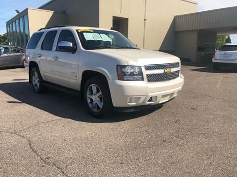 2013 Chevrolet Tahoe for sale at Big Three Auto Sales Inc. in Detroit MI