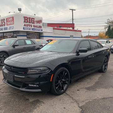 2016 Dodge Charger for sale at Big Three Auto Sales Inc. in Detroit MI