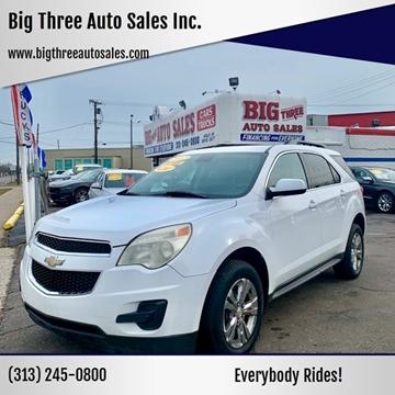 2012 Chevrolet Equinox for sale at Big Three Auto Sales Inc. in Detroit MI