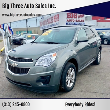 2013 Chevrolet Equinox for sale at Big Three Auto Sales Inc. in Detroit MI