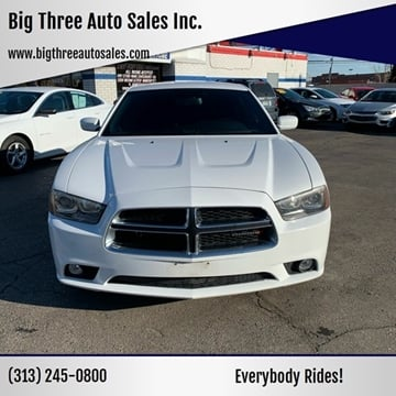 2014 Dodge Charger for sale at Big Three Auto Sales Inc. in Detroit MI