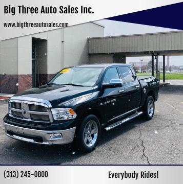 2009 Dodge Ram Pickup 1500 for sale at Big Three Auto Sales Inc. in Detroit MI