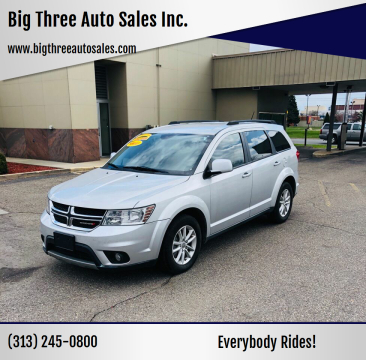 2014 Dodge Journey for sale at Big Three Auto Sales Inc. in Detroit MI