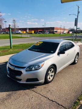 2015 Chevrolet Malibu for sale at Big Three Auto Sales Inc. in Detroit MI
