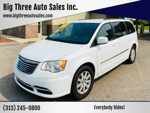 2014 Chrysler Town and Country for sale at Big Three Auto Sales Inc. in Detroit MI