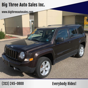 2014 Jeep Patriot for sale at Big Three Auto Sales Inc. in Detroit MI