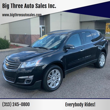 2014 Chevrolet Traverse for sale at Big Three Auto Sales Inc. in Detroit MI