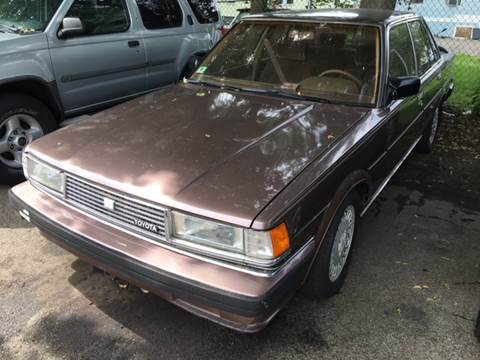 1986 Toyota Cressida for sale at Polonia Auto Sales and Service in Hyde Park MA