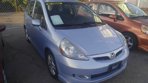 2008 Honda Fit for sale at Polonia Auto Sales and Service in Hyde Park MA