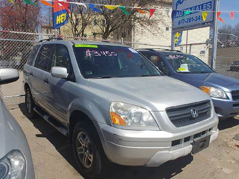 2003 Honda Pilot for sale at Polonia Auto Sales and Service in Hyde Park MA